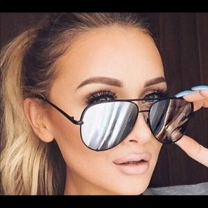 New Authentic Rayban 62 mm reflective sunglasses
